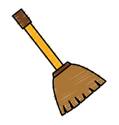 Broom icon image vector