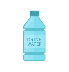drink water bottle vector image