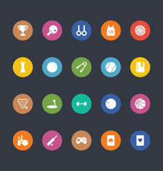 Glyphs Colored Icons 47 vector