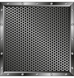 grillage background vector image