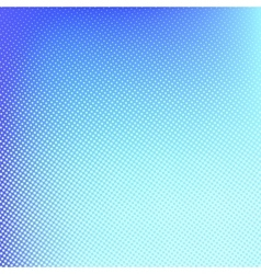 Halftone background Blue spotted pattern vector