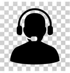 receptionist icon vector image