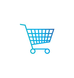 shopping cart purschase symbol add to cart vector image