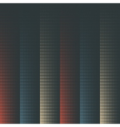 striped geometric background vector image