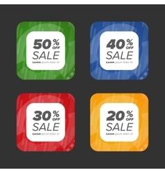 Big Sale tags vector image