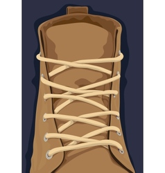 Close up shoe vector image vector image