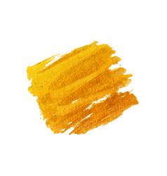 golden brush stroke golden splash vector image vector image