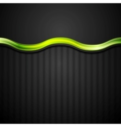 Abstract black striped corporate background with vector image
