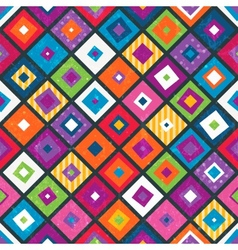 Abstract seamless background with squares vector