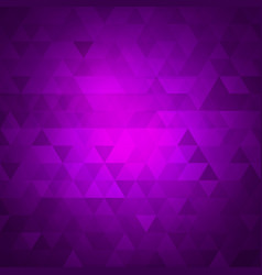 abstract textured triangle polygonal background vector image