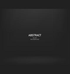 black abstract background gradient design darck vector image