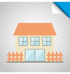 building front design vector image