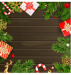 Christmas holiday party background happy new year vector