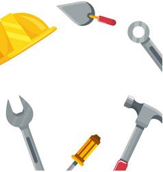 construction architectural cartoon vector image