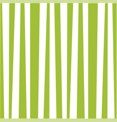cute pattern with vertical light green and white vector image
