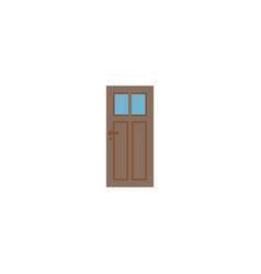 door icon flat element of vector image
