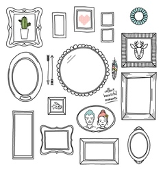 Frames pattern vector
