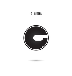 G-letter abstract logo vector