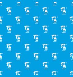 spray gun pattern seamless blue vector image