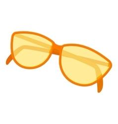 Sunglasses icon cartoon style vector image