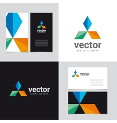logo design element 25 vector image vector image