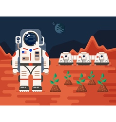 Mars colonizations 01 vector