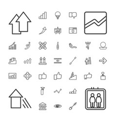 37 up icons vector