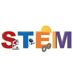 A stem and element logo vector