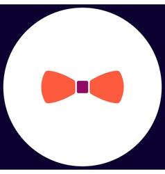 Bow tie computer symbol vector