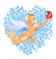 Cupid Hearts vector image