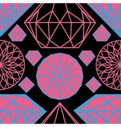 Diamonds seamless 04 vector