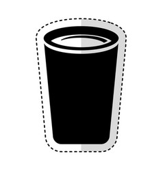 drink glass isolated icon vector image