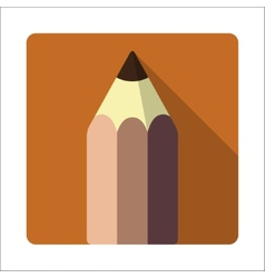 Pencil tool vector image