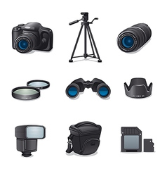 photo accessories vector image