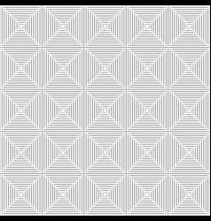Thin black square seamless pattern geometry vector