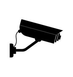 video surveillance icon vector image