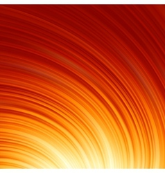 Abstract glow Twist with fire flow EPS 8 vector image vector image