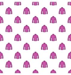 Men sweater pattern cartoon style vector image vector image