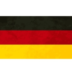 True proportions Germany flag with texture vector image