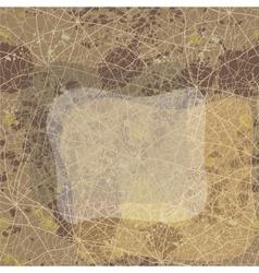 Vintage grunge background for your design vector image