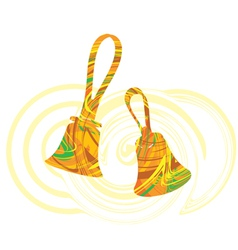 Abstract bells vector