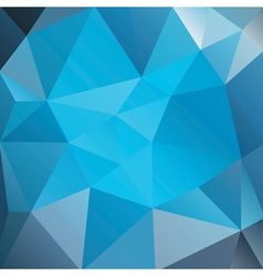 Abstract Blue Triangles vector image vector image