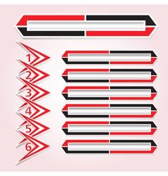 Background figures arrow keys vector