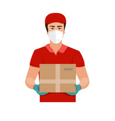 Delivery goods during prevention vector