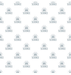 experiment center pattern seamless vector image