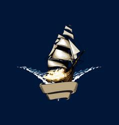 manowar vector image