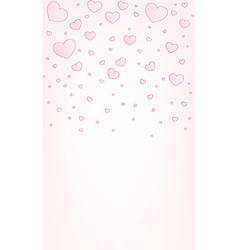 Valentine card background vector