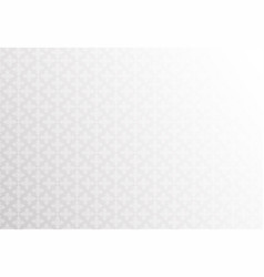 white snowflakes pattern background vector image