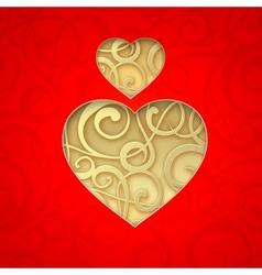 Heart Symbol vector image vector image
