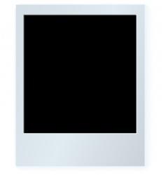 polaroid card vector image
